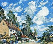 Summer Afternoon By Walter Elmer Schofield