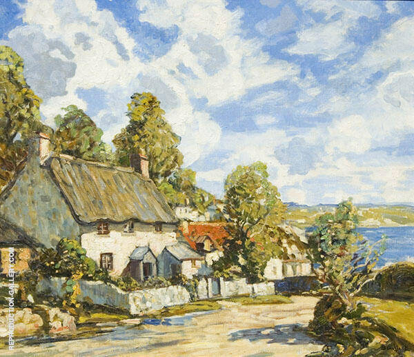 The Clearing Storm By Walter Elmer Schofield