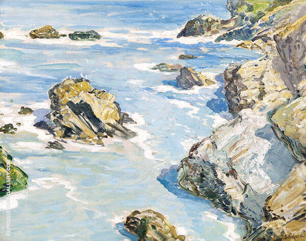 The Coast By Walter Elmer Schofield