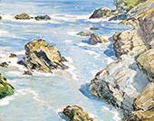 The Coast By Walter Elmer Schofield