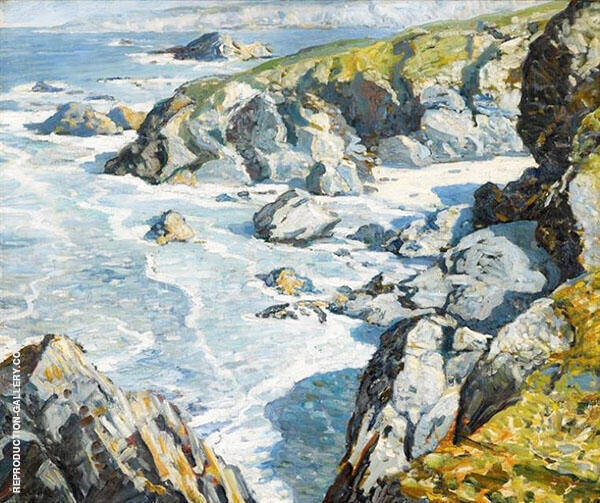 The Little Cove By Walter Elmer Schofield