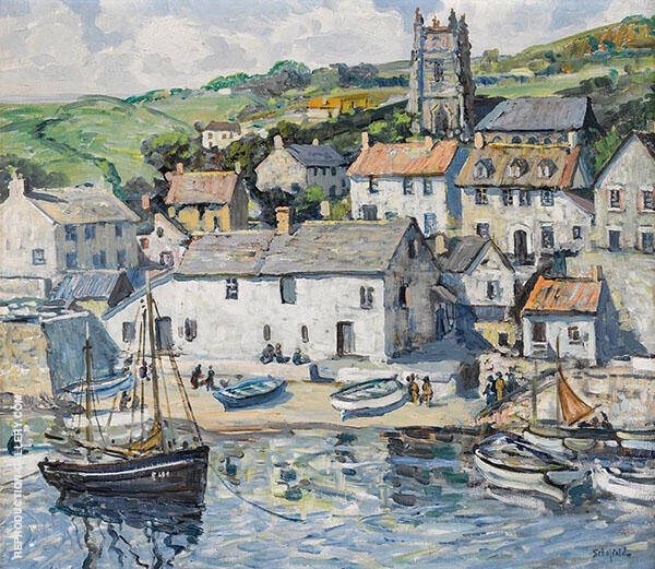 The Little Haven By Walter Elmer Schofield