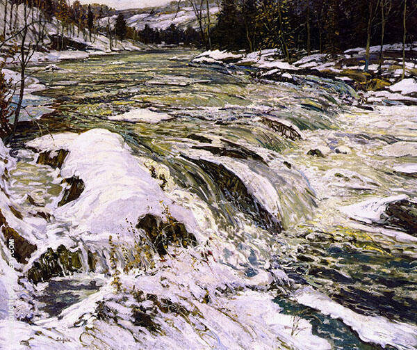 The Rapids c1914 By Walter Elmer Schofield