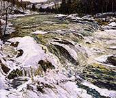 The Rapids c1914 By Walter Elmer Schofield