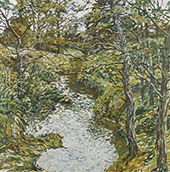 Wandering Brook By Walter Elmer Schofield