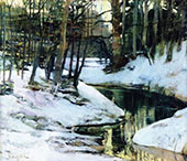 White Frost 1899 By Walter Elmer Schofield