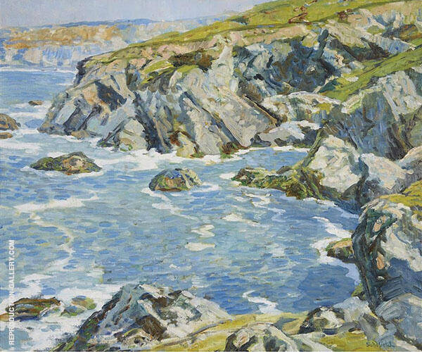 Woods Cove Laguna Beach By Walter Elmer Schofield