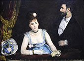 Box at The Theater des Italiens 1874 By Eva Gonzales