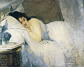 Awakening Woman c1877 By Eva Gonzales