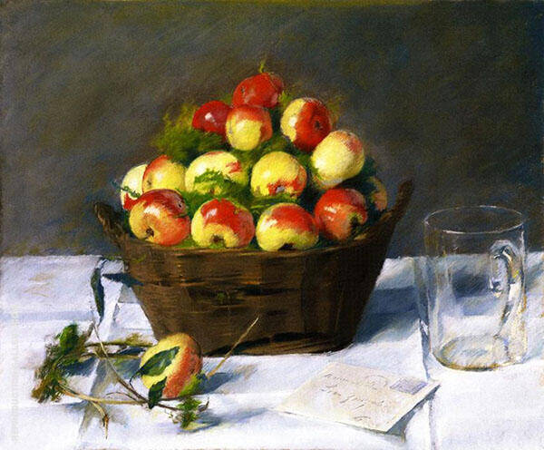 Sweet Apples By Eva Gonzales