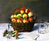 Sweet Apples By Eva Gonzales