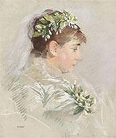 The Bride By Eva Gonzales