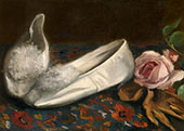 White Shoes By Eva Gonzales