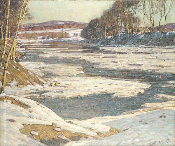 An Opalescent River 1909 By George Gardner Symons