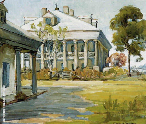 A Southern Maine Painting By George Gardner Symons - Reproduction Gallery