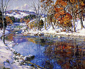 First Snowfall By George Gardner Symons