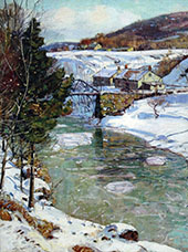 Icy Winter By George Gardner Symons