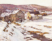 Indications of Spring Shelburne Falls By George Gardner Symons