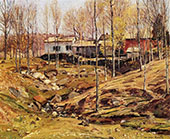 Landscape with Houses By George Gardner Symons