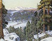 Pines in Winte By George Gardner Symons