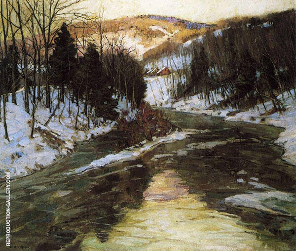 Winter Stream By George Gardner Symons