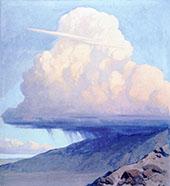 A Cloudburst By Fernand Lungren