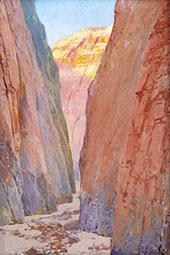 Desert Gorge Calico By Fernand Lungren