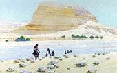 Desert Trail Nevada By Fernand Lungren