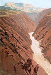 Silver River By Fernand Lungren