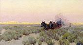 The Freighter By Fernand Lungren
