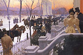 Washington Square New York 1897 By Fernand Lungren