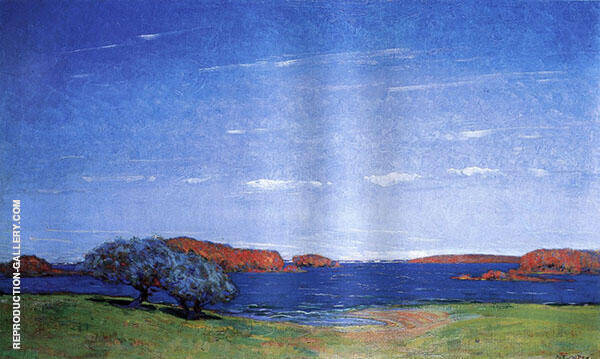 A Bright Sky with a Breeze 1910 By Arthur Wesley Dow