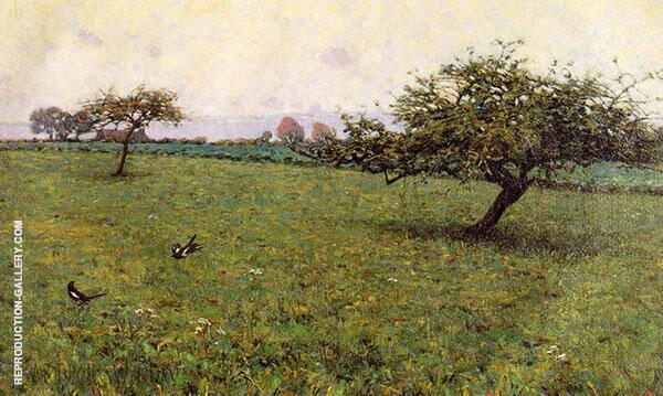 A Field Kerlaouen 1887 By Arthur Wesley Dow