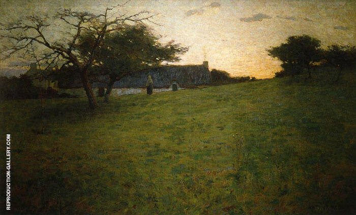 At Evening 1888 By Arthur Wesley Dow