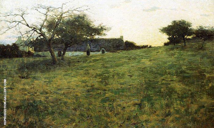 Au Soir 1889 By Arthur Wesley Dow