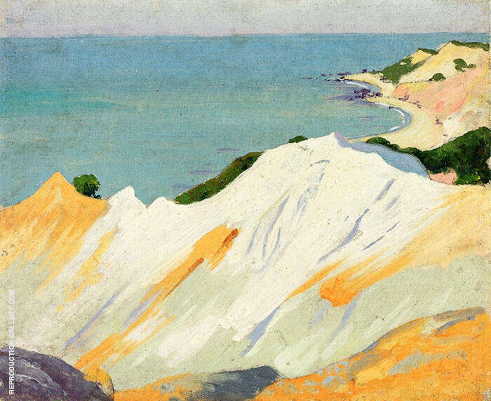 Chalk Hills Gay Head 1915 By Arthur Wesley Dow