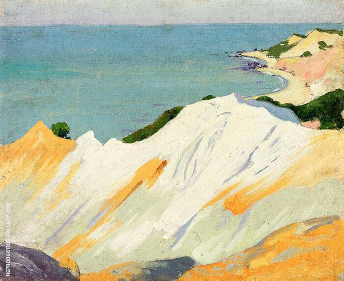 Chalk Hills Gay Head 1915 By Arthur Wesley Dow