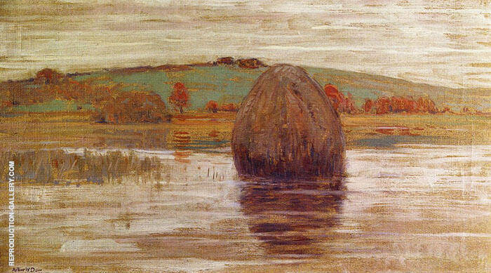 Flood Tide Ipswich Marshes Massachusetts 1900 By Arthur Wesley Dow