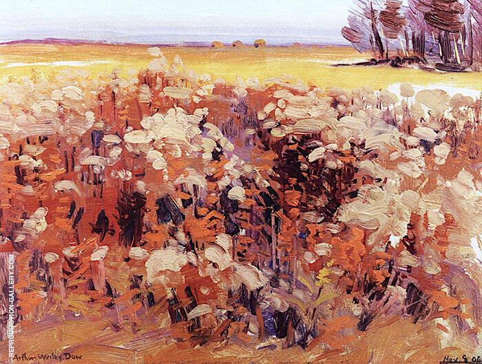 Flowering Fields By Arthur Wesley Dow
