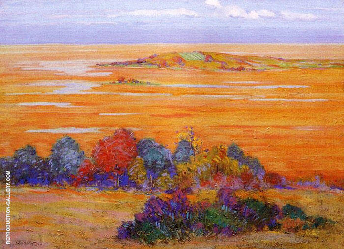From Bayberry Hill 1910 By Arthur Wesley Dow