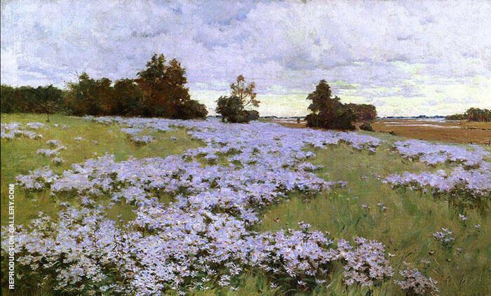 Frost Flowers Ipswich Massachusetts 1889 By Arthur Wesley Dow