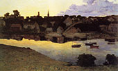 Ipswich at Dusk 1890 By Arthur Wesley Dow