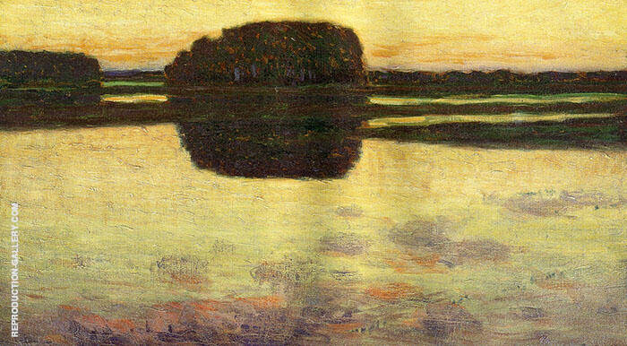 Ipswich Marsh 1900 Painting By Arthur Wesley Dow - Reproduction Gallery