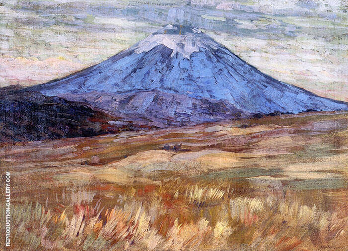 Mount Hood 1917 Painting By Arthur Wesley Dow - Reproduction Gallery
