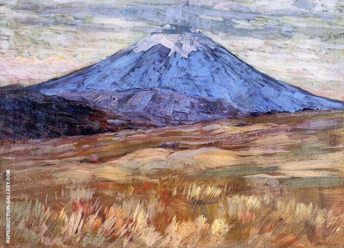Mount Hood 1917 By Arthur Wesley Dow