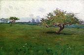 Study for a Field Kerlaouen By Arthur Wesley Dow