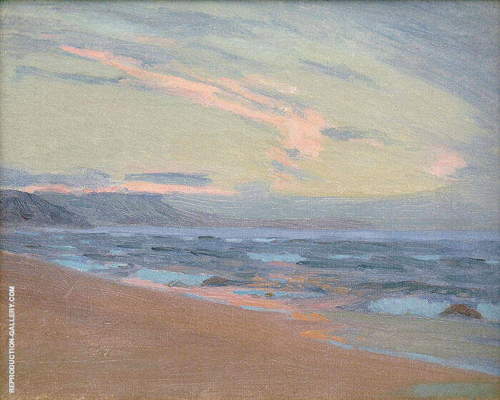 Sunset at Gay Head Marthas Vinyard By Arthur Wesley Dow