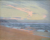 Sunset at Gay Head Marthas Vinyard By Arthur Wesley Dow
