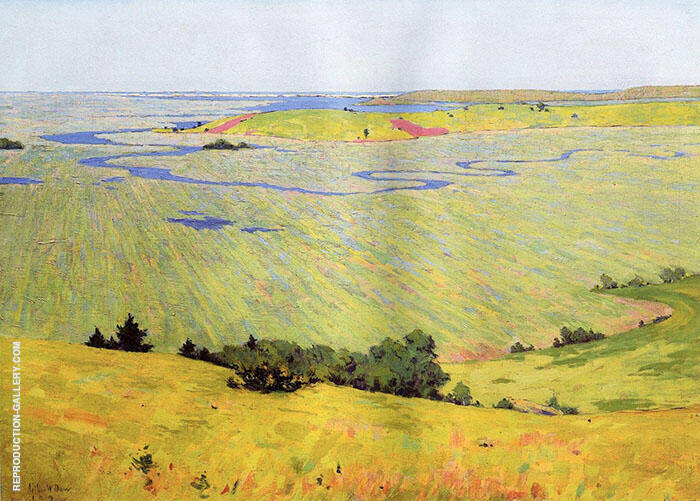 The Blue Dragon 1892 Painting By Arthur Wesley Dow - Reproduction Gallery