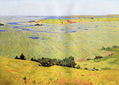 The Blue Dragon 1892 By Arthur Wesley Dow